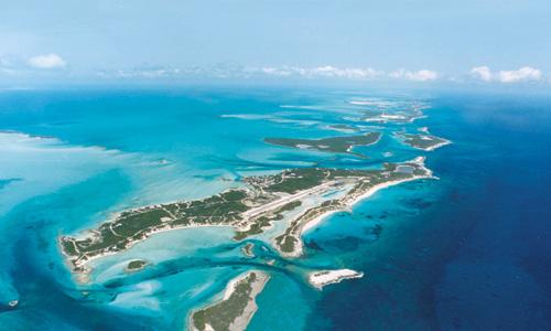 Bootscharter Bahamas: Das Archipel der Exumas umfasst 350 kleine Inseln