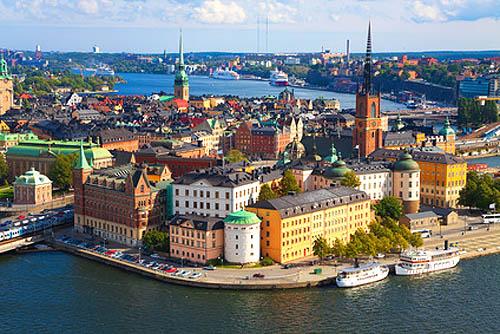 Yachtcharter Schweden: Die schwedische Metropole Stockholm