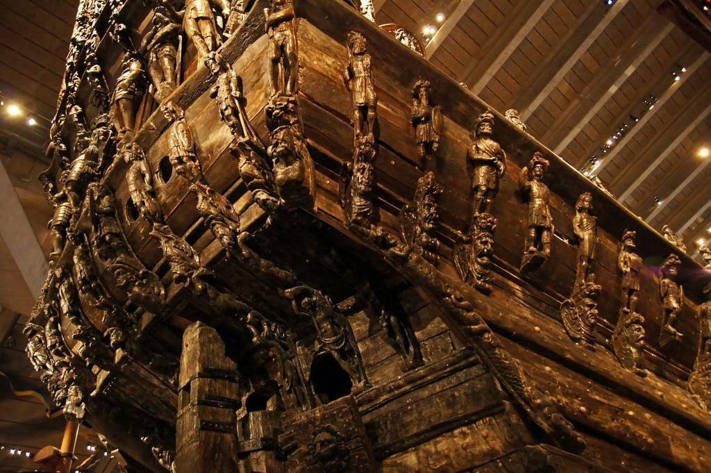 Bootscharter Schweden: Das beeindruckende Kriegsschiff Vasa auf der Insel Djurg�rden