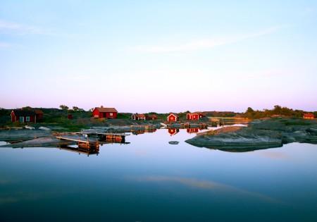 Yachtcharter Schweden: Die Sch�reng�rten Schwedens sind weltber�hmt