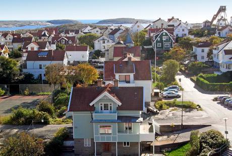 Bootscharter Schweden: Die Hafenstadt Smögen