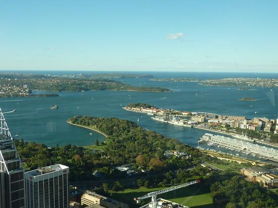 Yachtcharter Sydney: Der riesige Naturhafen Sydneys